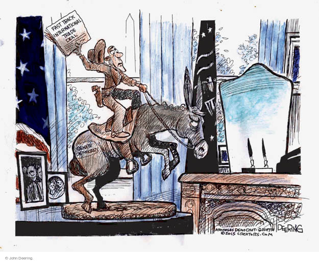 John Deering  John Deering's Editorial Cartoons 2015-05-13 international trade