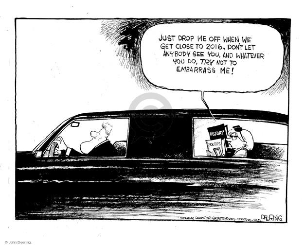 Cartoonist John Deering  John Deering's Editorial Cartoons 2015-05-14 bill