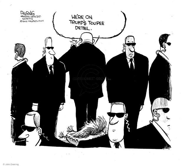 John Deering  John Deering's Editorial Cartoons 2015-06-18 security