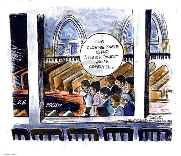 Cartoonist John Deering  John Deering's Editorial Cartoons 2015-06-19 society