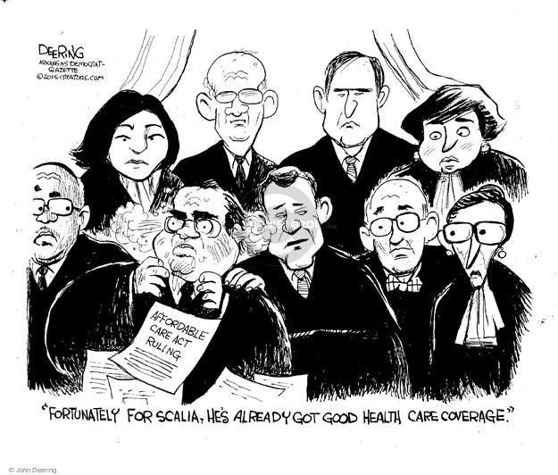 John Deering  John Deering's Editorial Cartoons 2015-06-27 decision