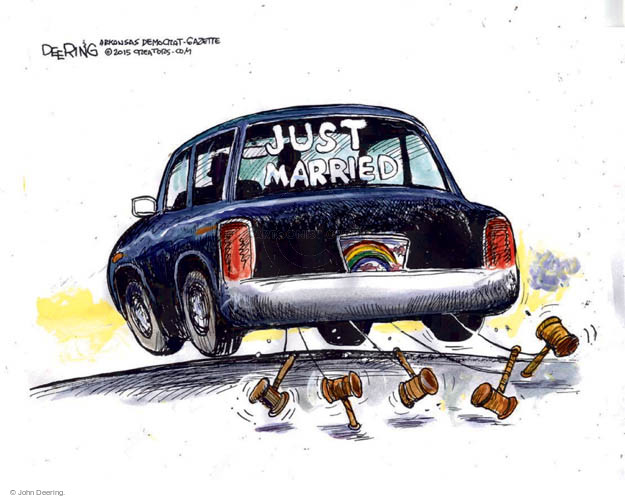 John Deering  John Deering's Editorial Cartoons 2015-06-30 Supreme Court