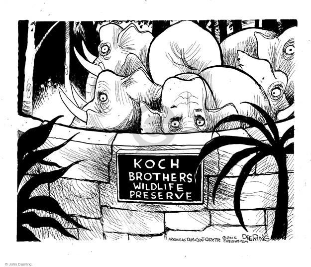 Koch Brothers Wildlife Preserve.