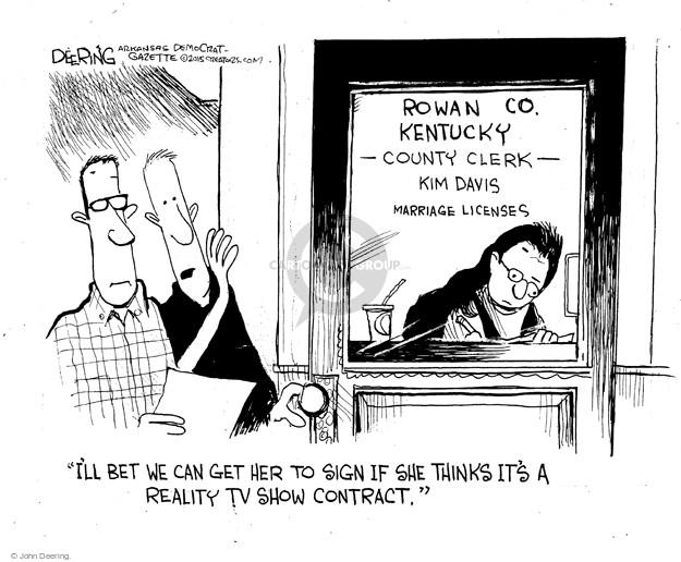 Cartoonist John Deering  John Deering's Editorial Cartoons 2015-09-07 television program