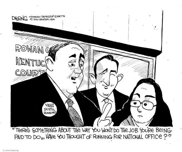 Cartoonist John Deering  John Deering's Editorial Cartoons 2015-09-12 issue