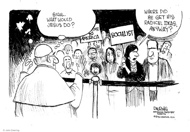 Cartoonist John Deering  John Deering's Editorial Cartoons 2015-09-23 John