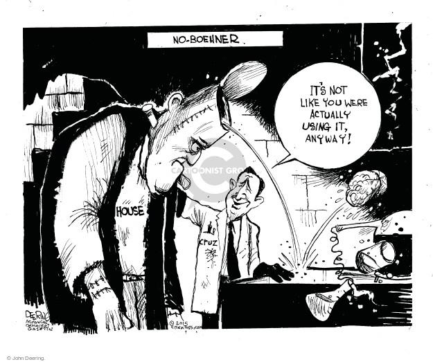 Cartoonist John Deering  John Deering's Editorial Cartoons 2015-09-30 republican senate