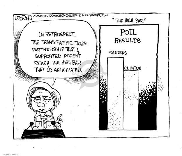 John Deering  John Deering's Editorial Cartoons 2015-10-11 Bernie Sanders