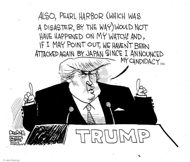 Cartoonist John Deering  John Deering's Editorial Cartoons 2015-10-20 Bush administration