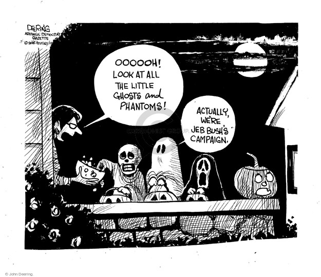 Cartoonist John Deering  John Deering's Editorial Cartoons 2015-10-29 John