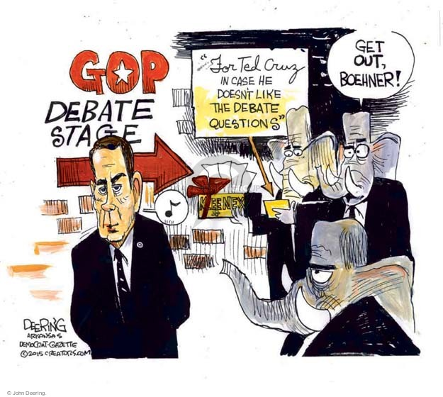 Cartoonist John Deering  John Deering's Editorial Cartoons 2015-11-10 senator