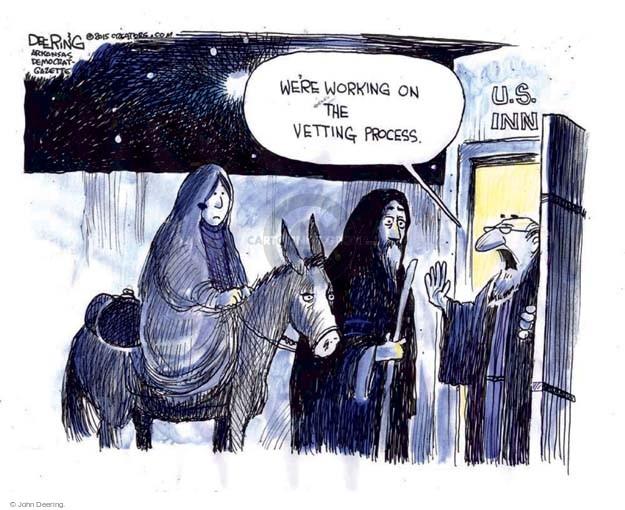 Cartoonist John Deering  John Deering's Editorial Cartoons 2015-11-20 John