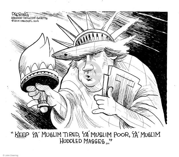 Cartoonist John Deering  John Deering's Editorial Cartoons 2015-12-10 John