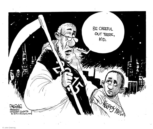 John Deering  John Deering's Editorial Cartoons 2015-12-30 racism