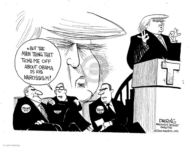 John Deering  John Deering's Editorial Cartoons 2016-01-05 Barack Obama