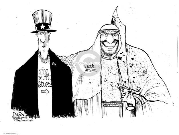 John Deering  John Deering's Editorial Cartoons 2016-01-07 execution