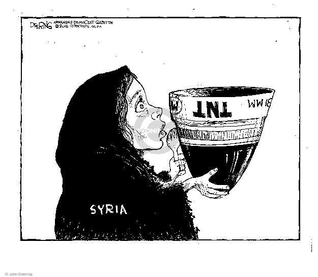 Cartoonist John Deering  John Deering's Editorial Cartoons 2016-01-12 John