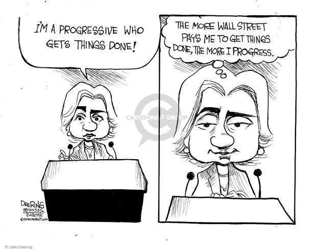 Cartoonist John Deering  John Deering's Editorial Cartoons 2016-02-06 speech