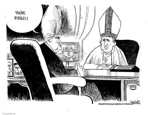 Cartoonist John Deering  John Deering's Editorial Cartoons 2016-02-21 unemployment