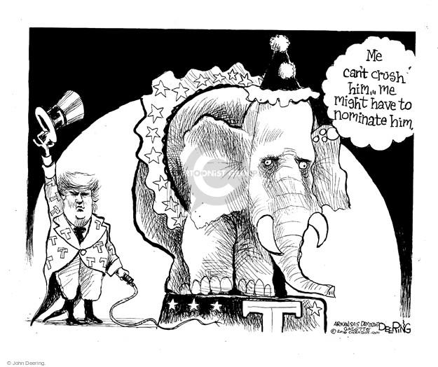 John Deering  John Deering's Editorial Cartoons 2016-02-27 political party