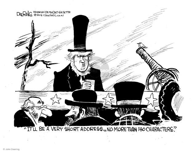 Cartoonist John Deering  John Deering's Editorial Cartoons 2016-03-01 speech