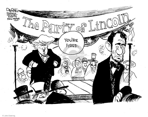 John Deering  John Deering's Editorial Cartoons 2016-04-04 former president