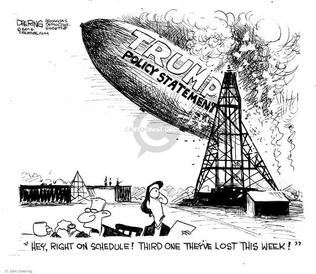 Cartoonist John Deering  John Deering's Editorial Cartoons 2016-04-11 issue