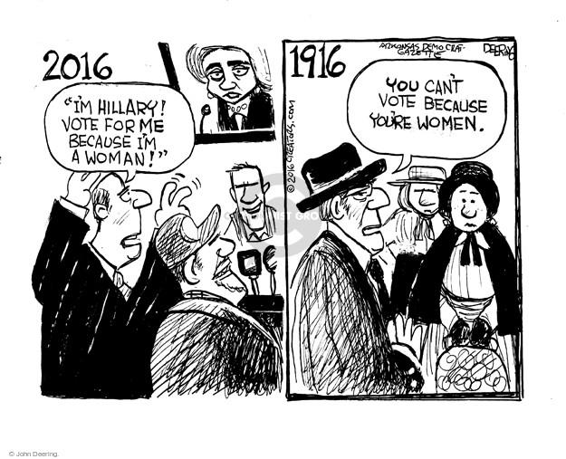 John Deering  John Deering's Editorial Cartoons 2016-05-15 amendment