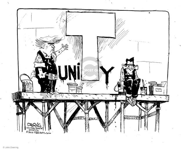 John Deering  John Deering's Editorial Cartoons 2016-05-16 political party