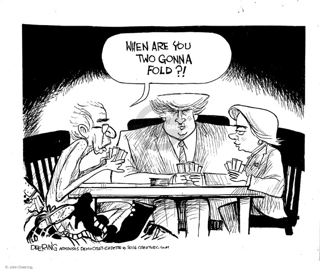 Cartoonist John Deering  John Deering's Editorial Cartoons 2016-05-23 senator