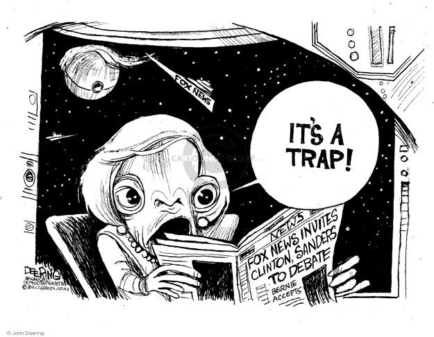 John Deering  John Deering's Editorial Cartoons 2016-05-27 Bernie Sanders