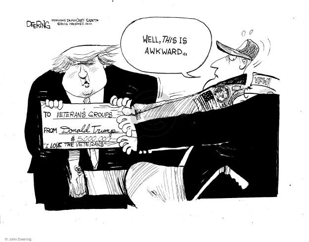 Cartoonist John Deering  John Deering's Editorial Cartoons 2016-06-03 John