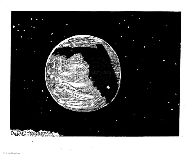 Cartoonist John Deering  John Deering's Editorial Cartoons 2016-06-17 gun massacre