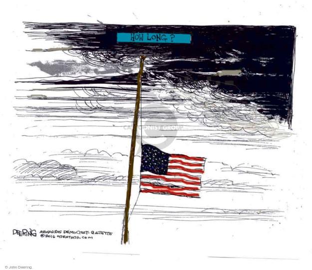 John Deering  John Deering's Editorial Cartoons 2016-07-12 assault weapon