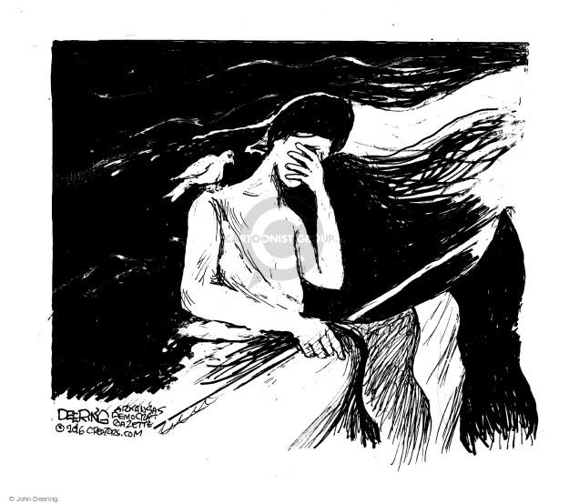 Cartoonist John Deering  John Deering's Editorial Cartoons 2016-07-18 John