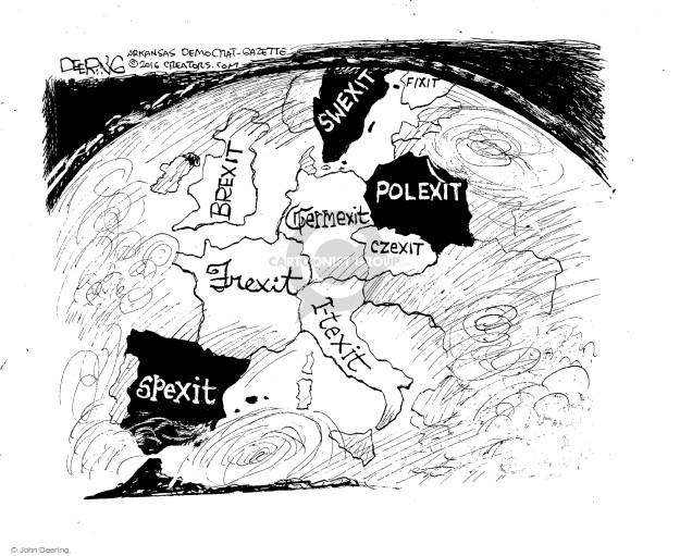 John Deering  John Deering's Editorial Cartoons 2016-07-19 economic
