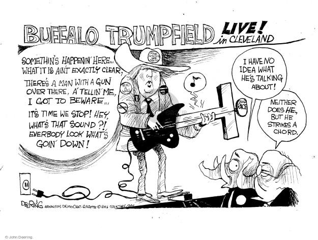 John Deering  John Deering's Editorial Cartoons 2016-07-22 2016 Republican convention