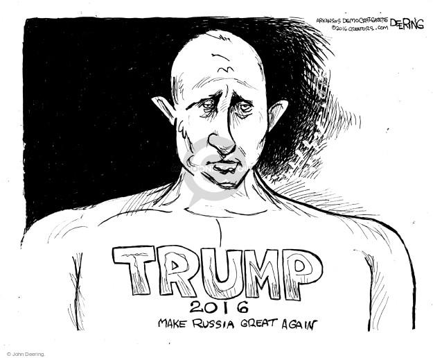 Cartoonist John Deering  John Deering's Editorial Cartoons 2016-07-24 John
