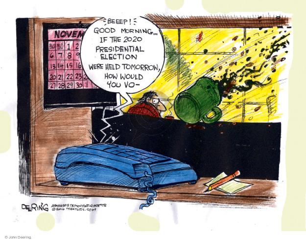 Cartoonist John Deering  John Deering's Editorial Cartoons 2016-11-10 politics