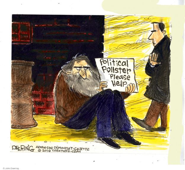 Cartoonist John Deering  John Deering's Editorial Cartoons 2016-11-13 politics