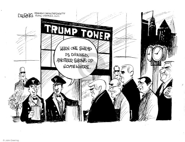 Cartoonist John Deering  John Deering's Editorial Cartoons 2016-11-17 politics