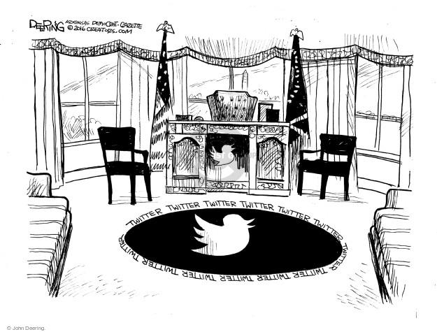 Cartoonist John Deering  John Deering's Editorial Cartoons 2016-11-26 politics