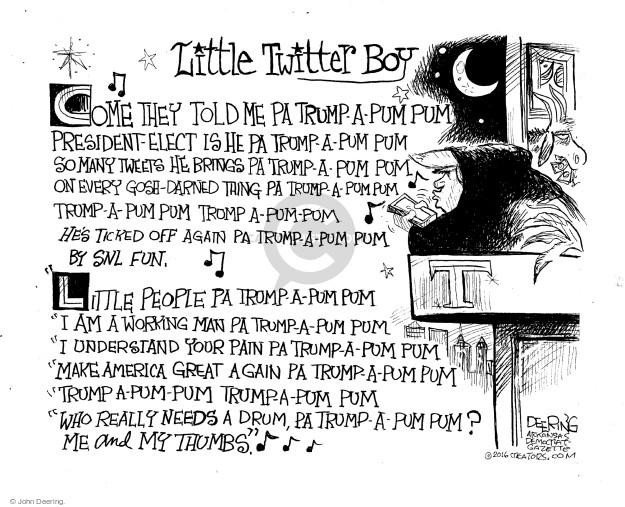 Cartoonist John Deering  John Deering's Editorial Cartoons 2016-12-23 politics