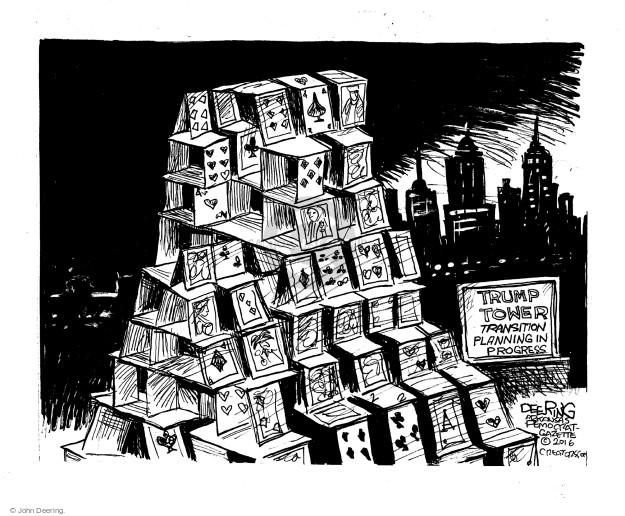 Cartoonist John Deering  John Deering's Editorial Cartoons 2016-12-30 politics