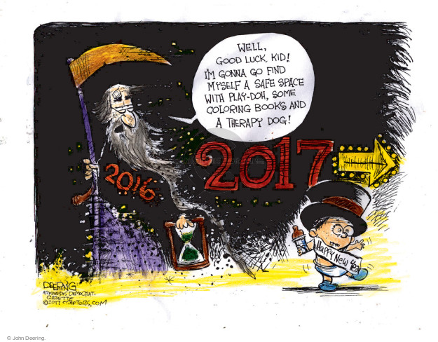 Cartoonist John Deering  John Deering's Editorial Cartoons 2017-01-01 coloring book
