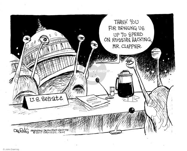 Cartoonist John Deering  John Deering's Editorial Cartoons 2017-01-09 politics
