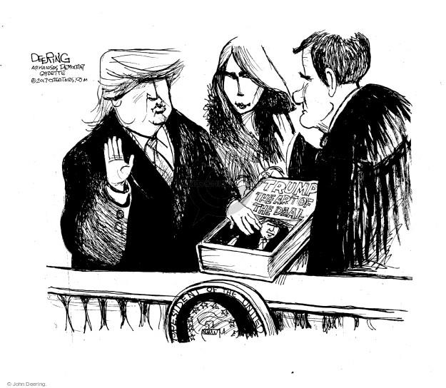 Cartoonist John Deering  John Deering's Editorial Cartoons 2017-01-22 John Roberts