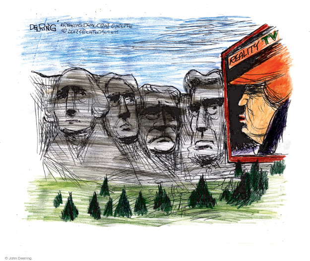 Cartoonist John Deering  John Deering's Editorial Cartoons 2017-01-26 John