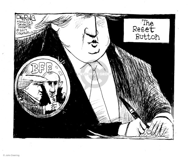 John Deering  John Deering's Editorial Cartoons 2017-02-08 Vladimir Putin