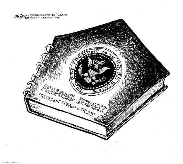 Cartoonist John Deering  John Deering's Editorial Cartoons 2017-03-03 John